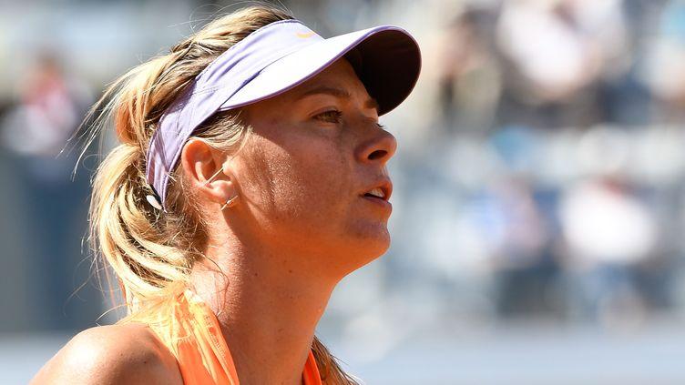 Maria Sharapova ne retrouvera les courts que le 31 juillet (CLAUDIO PASQUAZI / ANADOLU AGENCY)
