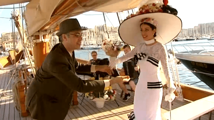 """Jean-Christophe Born et Cécilia Arbel dans """"My Fair Lady""""  (France 3 / Culturebox)"""