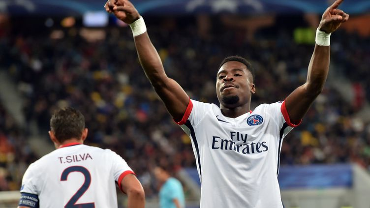 Serge Aurier a réussi ses débuts en Ligue des Champions (SERGEI SUPINSKY / AFP)