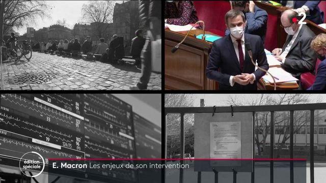Covid-19 : quels sont les enjeux de l'intervention d'Emmanuel Macron ?