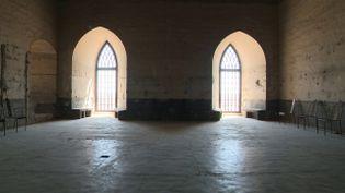 Le Palais des Papesdévoile ses lieux cachés au public. (CAPTURE D'ÉCRAN FRANCE 3)