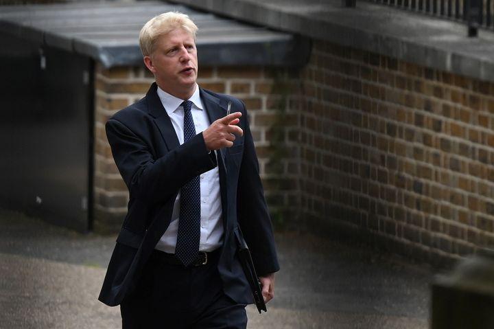 Jo Johnson, photographié à Londres, le 28 août 2019. (DANIEL LEAL-OLIVAS / AFP)
