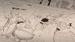 C'est une vente aux enchères exceptionnelle qui a lieu mardi 26 mai à Paris. Cinq planches de bande dessinée signées de la main d'Albert Uderzo, le créateur d'Astérix décédé en mars dernier, sont mis à la vente. La somme récoltée ira à la Fondation Hôpitaux de Paris. (France 3)