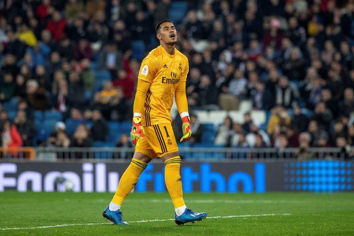 Alphonse Areola aura seulement joué neufs matches avec le Real Madrid. (RODRIGO JIMENEZ / EFE)