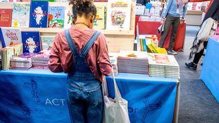 Salon du livre et de la presse jeunesse en Seine-Saint-Denis, Montreuil, le 27 novembre 2019 (BRUNO LEVESQUE / MAXPPP)
