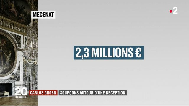 Carlos Ghosn : les soupçons de Renault sur une réception gratuite à Versailles