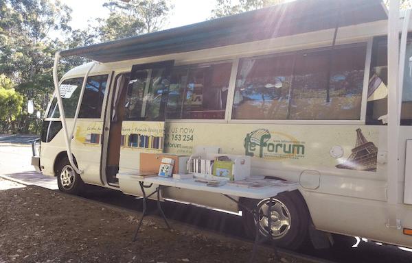 Le Van du livre fin prêt pourun nouveau périple de 12 000 kilomètres à travers l'Australie (Photo le Van du livre)
