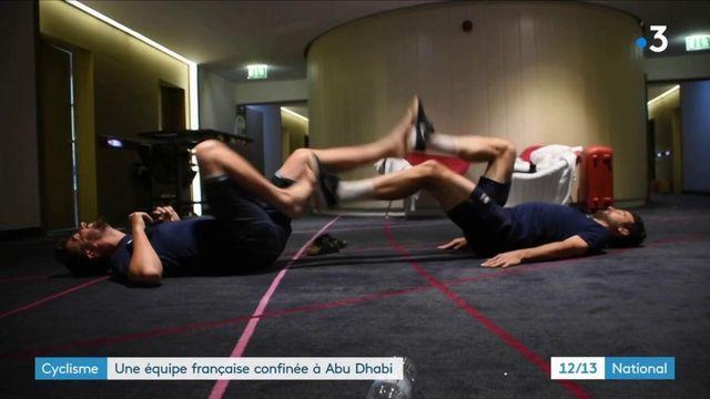 Cyclisme : une équipe française confinée à Abu Dhabi
