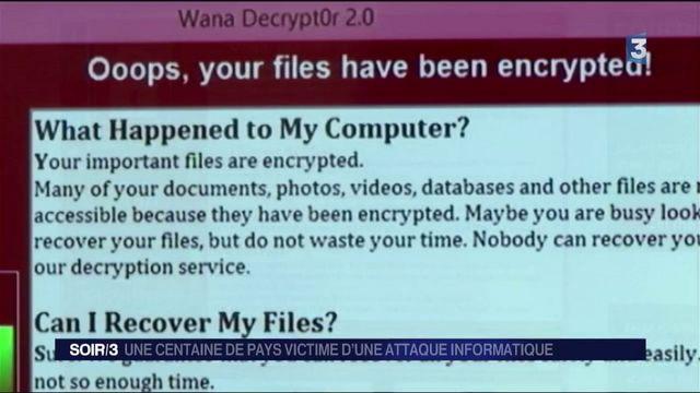 Sécurité : une cyberattaque touche le monde entier