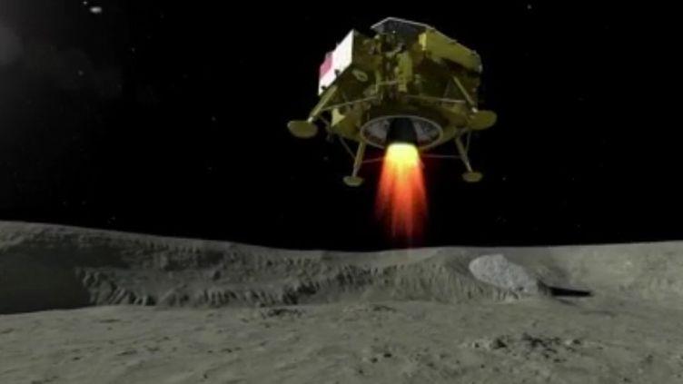 L'ESA et ArianeGroup étudient la possibilité d'aller sur la Lune à l'horizon 2025. Ce serait une grande première pour l'Europe. (FRANCE 2)