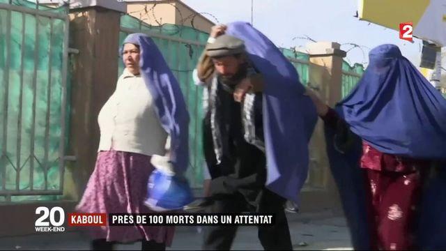 Afghanistan : près de 100 morts dans un attentat
