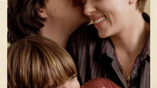 """Adam Driver et Scarlett Johansson : détail de l'affiche du film """"Marriage story"""" de Noah Baumbach. (NETFLIX)"""