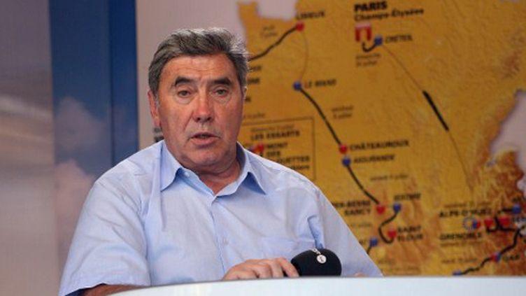 Le quintuple vainqueur du Tour de France Eddy Merckx (KLAUS VOLKMANN / MVP)