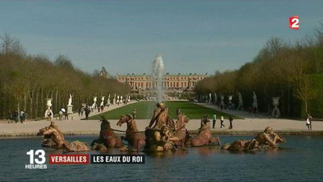 Versailles : les fontaines du roi