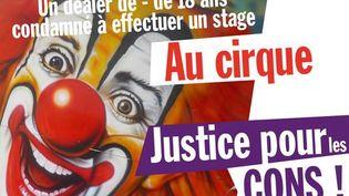 """Capture d'écran du """"mur des cons"""" de Debout la République, sur le réseau social Tumblr, réalisée le 26 avril 2013. (DEBOUT LA REPUBLIQUE / TUMBLR)"""