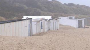 Les cabanes de Blériot-Plage (Pas-de-Calais) pourraient être détruites à la fin de l'été. (CAPTURE ECRAN FRANCE 3)