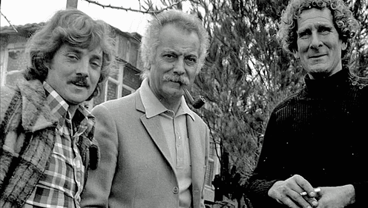 Georges Brassens, Lolo Spinozi et Jean Burnelin   (France 2 / Culturebox)