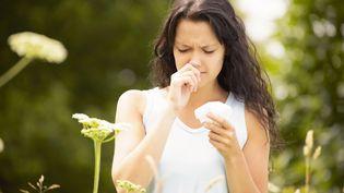 Les allergies saisonnières non traitées peuvent devenir un cauchemar pour ceux qui en souffrent. (MARTIN LEIGH / CULTURA CREATIVE / AFP)