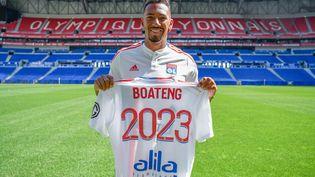 Le nouveau défenseur de l'Olympique Lyonnais, l'international allemand Jérôme Boateng. (OL)