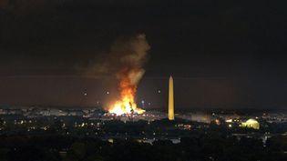 """Une scène de la série """"Designated Survivor"""" a été utilisée pour illustrer un soi-disant """"black-out"""" de Washington. (NETFLIX)"""