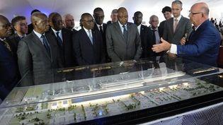 Présentation de la maquette du nouvel aéroport international d'Abidjan. (gouv.ci)