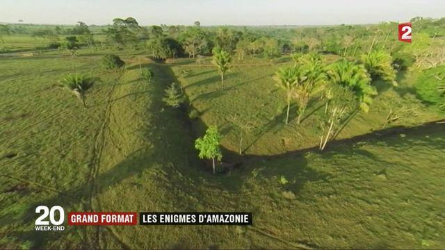Grand format : les énigmes des géoglyphes d'Amazonie