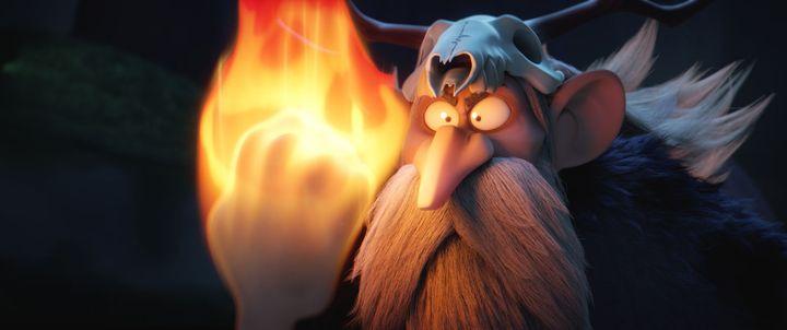 """Sulfurix dans """"Astérix - Le Secret de la potion magique"""" de Louis Clichy et Alexandre Astier  (SND)"""