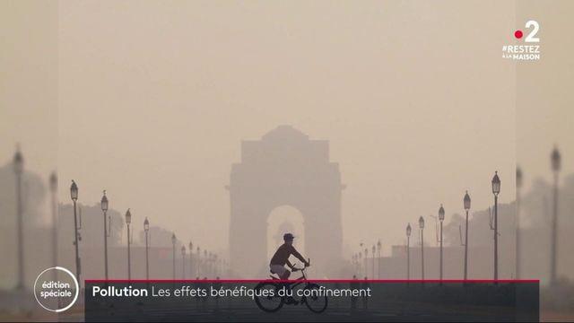 Pollution : les effets bénéfiques du confinement