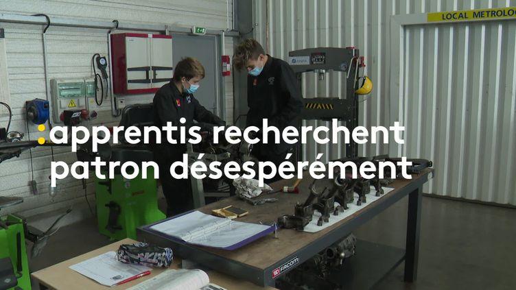 Au CFA deLézignan-Corbières (Aude), les apprentis ont du mal à trouver des entreprises à cause de la crise sanitaire (France 3 Languedoc-Roussillon)