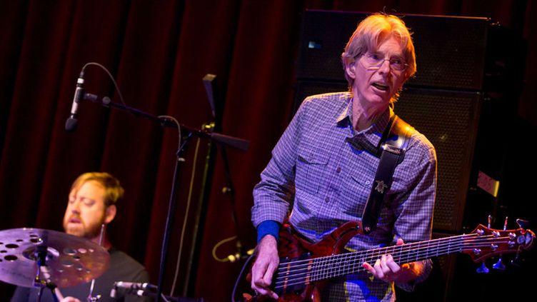 """Phil Lesh lors d'un concert """"Phil Lesh and friends"""" au Brooklyn Bowl de Las Vegas, le 17 octobre 2014  (MediaPunch / Rex / Sipa)"""