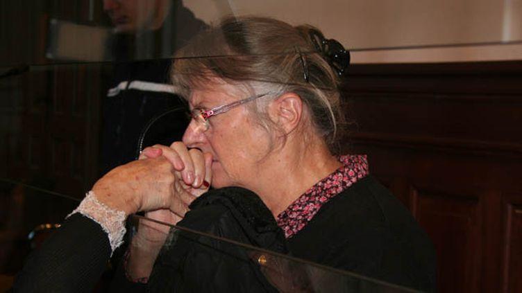(Jacqueline Sauvage, ici lors de son procès en appel, le 3 décembre 2015 © MaxPPP)