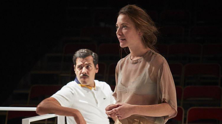 Claire de La Rüe du Can (La Comtesse) et Laurent Lafitte (le Chevalier Damis)  (Christophe Raynaud de Lage/Comédie-Française)