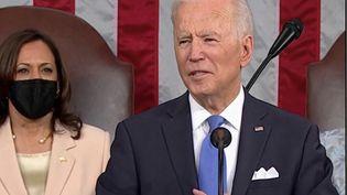 États-Unis : Joe Biden défend son nouveau plan de relance au Congrès (FRANCE 2)