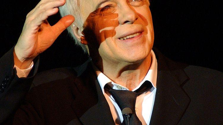 L'humoriste, artiste de music-hall, acteur et scénariste, Guy Bedos est mort ce 28 mai à l'âge de 85 ans. (ALEXANDRE MARCHI / MAXPPP)