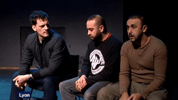 """""""Djihad"""" jouée devant des scolaires lyonnais  (Capture d'image France3/Culturebox)"""