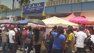 CHU de Guadeloupe : le ras-le-bol du personnel (Capture d'écran France 3)
