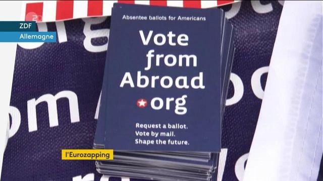 Eurozapping : l'élection présidentielle américaine passionne le Vieux Continent