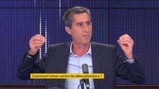François Ruffin, le 23 septembre 2020. (FRANCIENFO / RADIO FRANCE)