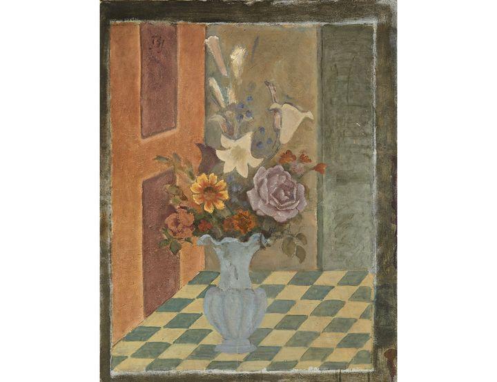 """Balthus, """"Le Vase bleu"""", 1963-1964 (© ARTCURIAL)"""