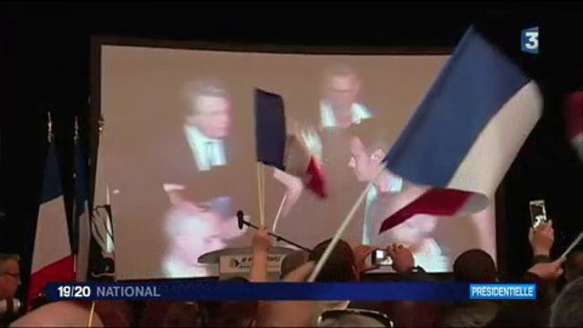 Présidentielle 2017 : un meeting sous tension en Corse pour Marine Le Pen