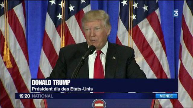"""États-Unis : """"C'est une honte"""", a répondu Donald Trump"""