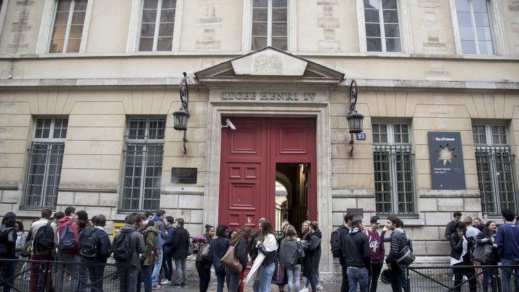 Un lycée à Paris, le 15 juin 2016. (Photo d'illustration) (MAXPPP)