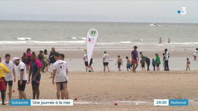 Secours populaire : une fois par an, ils emmènent des enfants à la mer