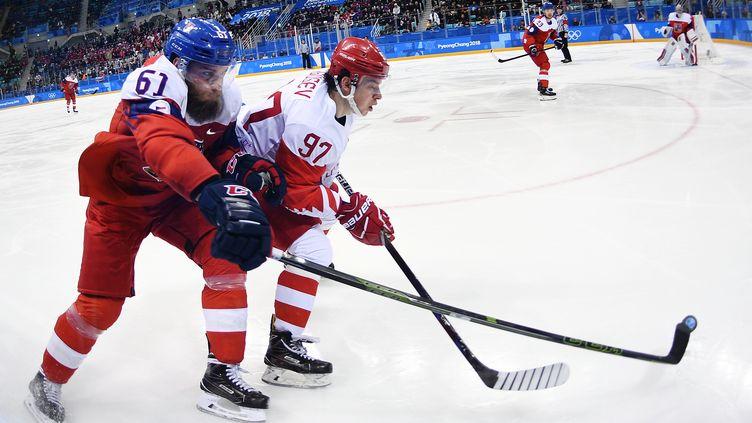 Le Russe Gusev devance le Tchèque Polasek  (VLADIMIR ASTAPKOVICH / SPUTNIK)