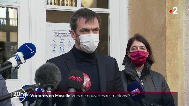 Covid-19 en Moselle : Olivier Véran annonce un nouveau protocole sanitaire mais aucun reconfinement