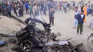 À Kaboul, en Afghanistan, un attentat a eu lieu aux abords d'un établissement scolaire d'un quartier chiite, samedi 8 mai. Plus de 50 morts sont à déplorer. (France 2)