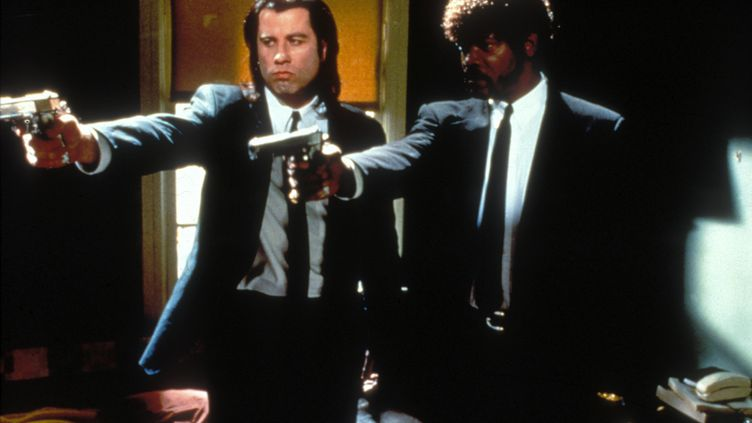 """Scène du film """"Pulp fiction"""", de Quentin Tarantino, palme d'or en 1994 à Cannes. (DISNEY / IMAGE NUMÉRIQUE)"""