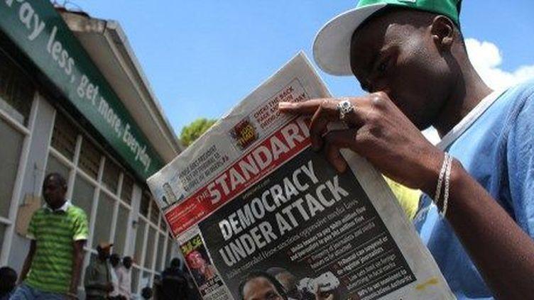 La presse kenyane s'insurge contre une loi qu'elle juge liberticide. (AFP/Simon Meina)