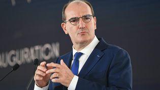 Le Premier ministre Jean Castex doit s'entretenir lundi 20 septembre avec le président du Sénat Gérard Larcher pour évoquer le futur projet de loi. (FRANCK DUBRAY / MAXPPP)