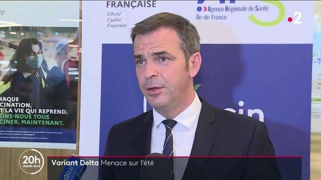 """Covid-19 : le variant Delta pourrait """"gâcher l'été"""" selon Olivier Véran"""
